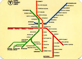 Mbta Map Boston by File 1973 Mbta Rapid Transit Map Card Jpg Wikimedia Commons
