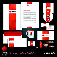 corporate identity kit vector templates 05 vector business