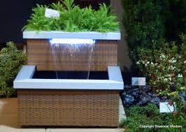 backyard water fountains for the garden patios diy outdoor