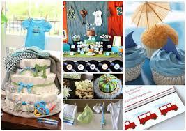 unique boy baby shower themes interior design simple boy themed baby shower decorations design