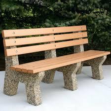 concrete garden bench diy concrete bench design furniture cool
