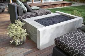 Concrete Fire Pit by Modern Outdoor Firepit Inspiration Honeysuckle Life