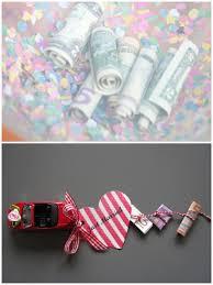ideen hochzeitsgeschenke geldgeschenke basteln auto spielzeug geldscheine mit faden