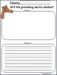 groundhog u0027s literacy acitivites preschool kindergarten