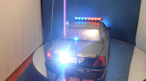 emergency light laws by state new 1 18 diecast maryland state trooper police car w wkg lights and