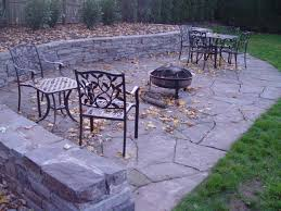 Flagstone Patio Installation Cost by Abington Pennsylvania Patio And Retaining Wall Devine Escapes