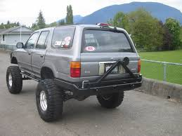 largest toyota tag rear bumpers toyota 4runner forum largest 4runner forum