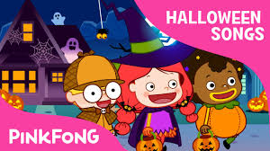 knock knock trick or treat halloween songs pinkfong songs for