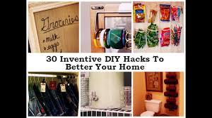 creative diy hacks to improve your home youtube