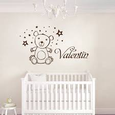 stikers chambre bebe sticker chambre bb beau ourson de conception