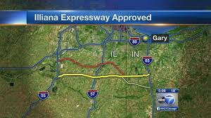 Chicago Toll Roads Map by Illiana Expressway Approved By Northwest Indiana Planning Board