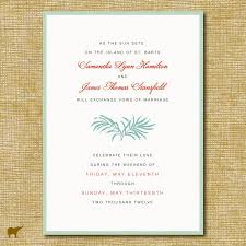 Sample Of Wedding Invitation Cards Wording Invitation Card Beach Wedding Reception Invitations Invite