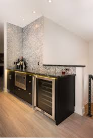 modern frameless wet bar cabinets from woodharbor feature malibu