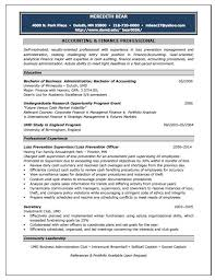 Sample Resume For Accountant by Accounting Position Resume Sample Resume Writing Service