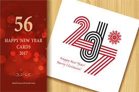 happy new year greetings cards 2017 happy new year greeting cards graphics creative market