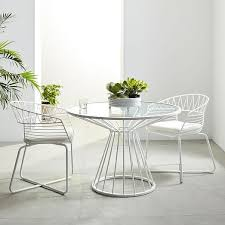 White Patio Dining Table And Chairs Best 25 Modern Outdoor Dining Tables Ideas On Pinterest Modern