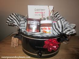 hot chocolate gift basket crockpot nutella hot chocolate recipe and shower gift idea
