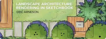 landscape architecture rendering a digital worfklow