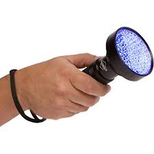 black light mold detection super bright 100 led blacklight uv flashlight emits a powerful 30