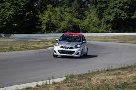 nissan micra race car track event nissan micra cup canadian auto review