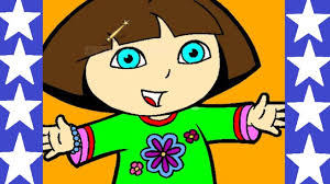 dora the explorer online coloring pages dora coloring book