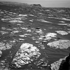 curiosity mars rover longing looks at spectacular scenery