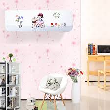 Wall Air Conditioner Cover Interior Indoor Air Conditioner Cover Protector Embroidery All Inclusive