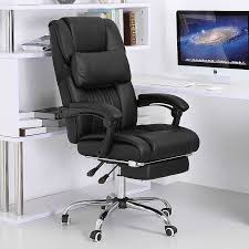 Recliner Office Chair Reclining Computer Chairs For Your Working Environment Regarding