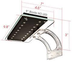 high output led lights something fishy aquarium supplies lighting wave point blade