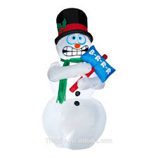 Snowman Lawn Decorations Outdoor Lighted Plastic Snowman Outdoor Lighted Plastic Snowman