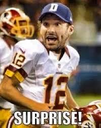 Tony Romo Meme Images - 22 meme internet surprise kirk cousins tony romo