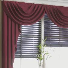 jcp home supreme antique satin cascade and swag valances