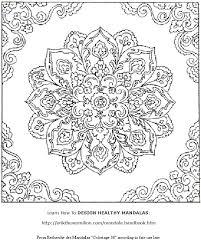 free mandala coloring pages to print glum me