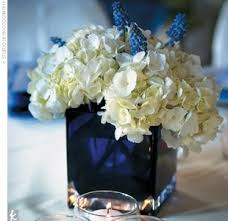 blue centerpieces awesome blue and white wedding centerpieces contemporary style