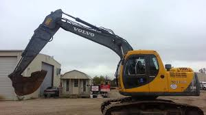 operating a volvo 140 excavator youtube