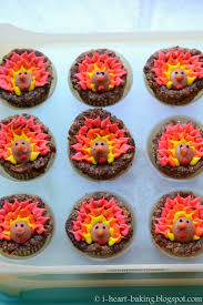 thanksgiving cup cakes i heart baking november 2015