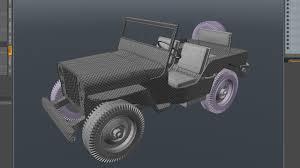 willys jeep ww2 world war ii willys jeep in modo envato tuts 3d u0026 motion