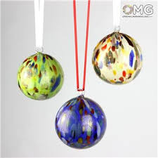 small objects lwork in murano glass