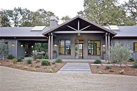 full metal building ranch home w breath taking interior plans