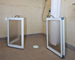 Disabled Half Height Shower Doors Contour Showers Uk Specialists In Disabled Showers Contour