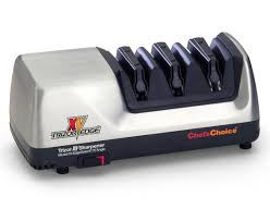 Electric Kitchen Knives Chef U0027schoice Trizor Xv Sharpener