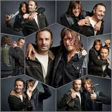 the walking dead episode guide andrew lincoln u0026 norman reedus for tv guide magazine the walking