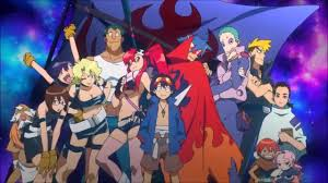 gurren lagann gurren lagann opening 1 english by sapphire hd creditless youtube