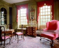 Living Room In Mansion Parlor Room Of Hunter House An 18th Century Mansion In Newport