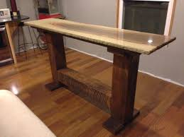 granite top round pub table impressive granite bar table with reclaimed pedestal height within