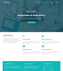 free webpage templates html 17 free medical html website templates templatemag