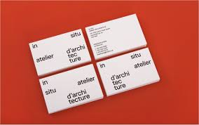 Minimal Design Business Cards Business Card Design Inspiration 60 Eye Catching Examples