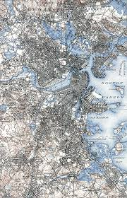 Boston Usa Map by 1920s Or 30s Boston Map Wanted Please