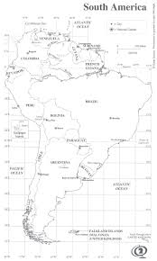 Blank South America Map Quiz by North America Coloring Map Of Countries Homeschooling India