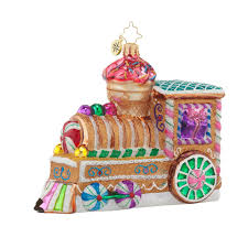 christopher radko ornaments 2016 radko sugar choo choo ornament